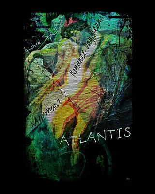 Mermaid Love Spell Poster by Absinthe Art By Michelle LeAnn Scott