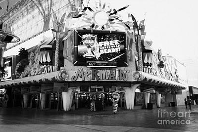 mermaids casino freemont street Las Vegas Nevada USA Poster