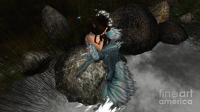 Mermaids Tail Poster
