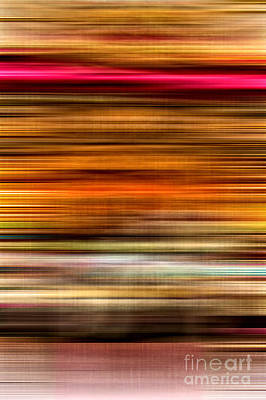 Merry Go Round Abstract Poster