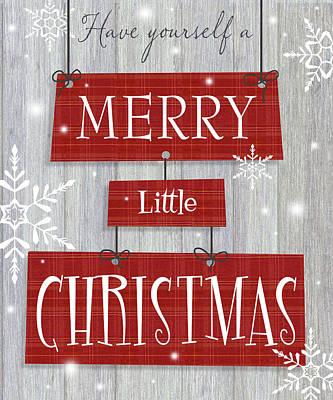 Merry Little Christmas Poster