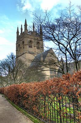 Merton College Chapel Poster