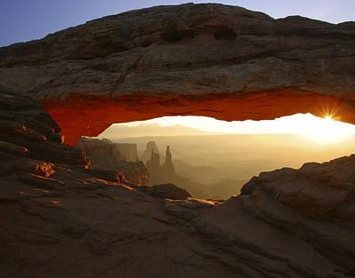 Mesa Arch Poster by Allen W Sanders