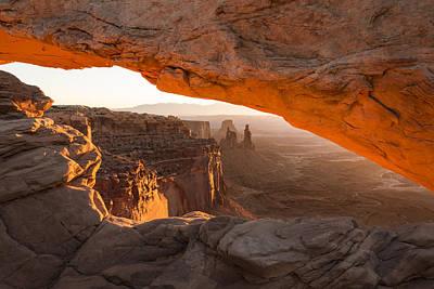 Mesa Arch Sunrise 5 - Canyonlands National Park - Moab Utah Poster by Brian Harig