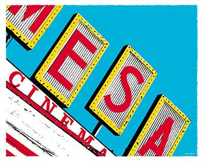 Mesa Cinema Poster