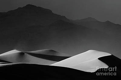 Death Valley California Mesquite Dunes 14 Poster by Bob Christopher