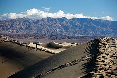 Mesquite Flat Sand Dunes Poster by Jim West