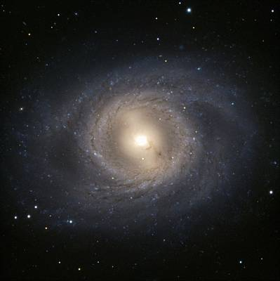 Messier 95 Galaxy Poster by European Southern Observatory