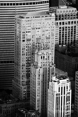 Met Life Building Lincoln Building Lefcourt Colonial Building And Johns Manville Building New York Poster by Joe Fox