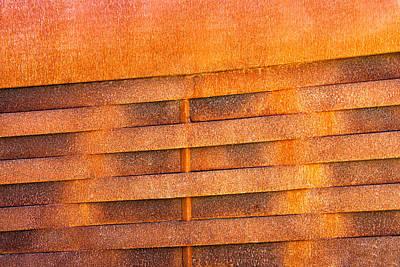 Metal Rust Background Poster by Joel Vieira