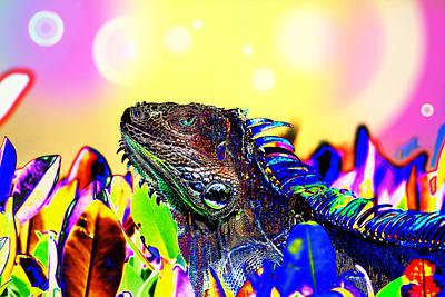 Metallic Dragon Poster by Mr Bennett Kent