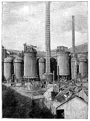 Metallurgical Blast Furnaces Poster