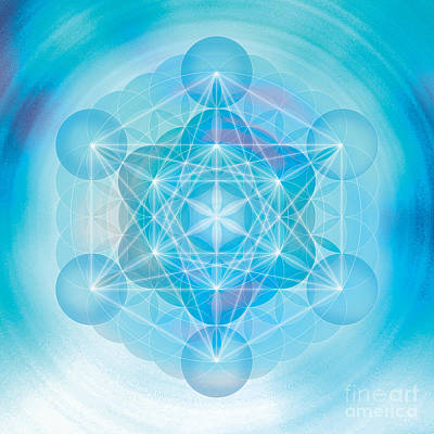 Metatron Mandala Poster by Soulscapes - Healing Art