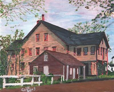Metcalfs Mill Poster