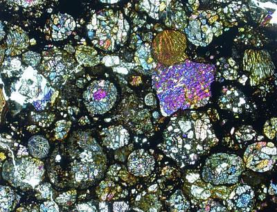 Meteorite Jah 055 Poster by Alfred Pasieka