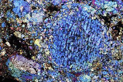 Meteorite Sau 001 Poster by Alfred Pasieka