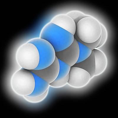 Metformin Drug Molecule Poster