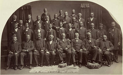 Methodist Conference, 1891 Poster