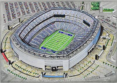 Metlife Stadium - New York Giants Poster