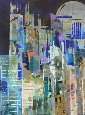 Metropolis Poster by Katie Black