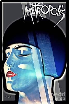 Metropolis Poster by Mo T