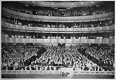 Metropolitan Opera, 1895 Poster