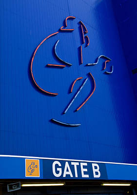 Mets Shea Stadium Gate B Poster by Alida Thorpe