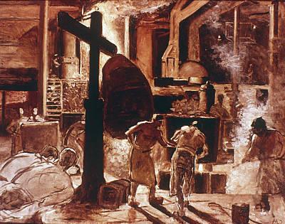 Meunier Steel Mill, 1890 Poster by Granger