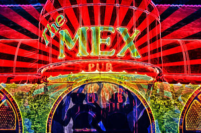 Mex Party Poster by Richard Farrington