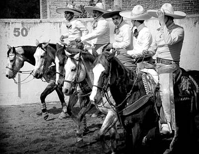Mexican Cowboys Poster