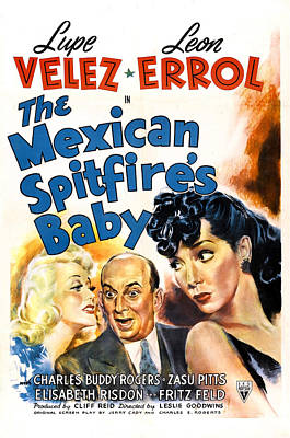 Mexican Spitfires Baby, Us Poster Poster by Everett