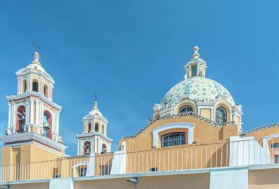Mexico, Puebla, Cholula, Santuario De Poster