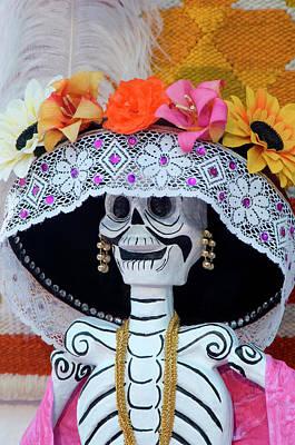 Mexico, San Miguel De Allende, Skeleton Poster by Jaynes Gallery