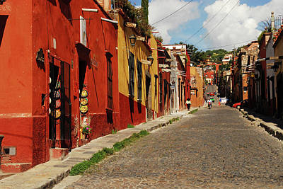Mexico, San Miguel De Allende, View Poster by Anthony Asael