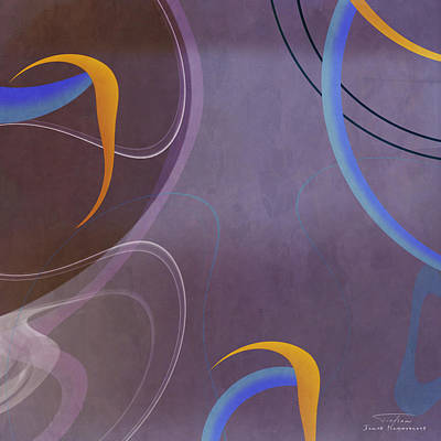 Mgl - Abstract Twirl 07 I Poster