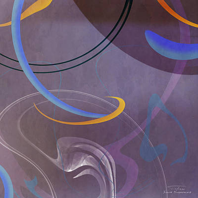 Mgl - Abstract Twirl 07 II Poster by Joost Hogervorst