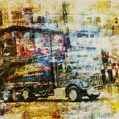 Mgl - City Collage - New York 10 Poster by Joost Hogervorst