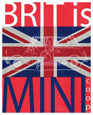 Mgl - Travel Brit Is 03 Poster by Joost Hogervorst