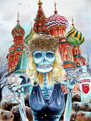 Mi Vodka Poster by Heather Calderon