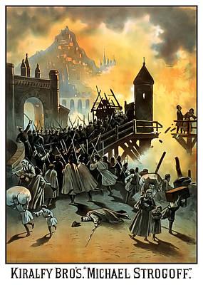 Micael Strogoff Poster by Terry Reynoldson