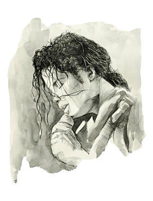 Michael Jackson 3 Poster by Bekim Art