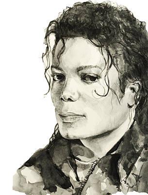 Michael Jackson 6 Poster by Bekim Art