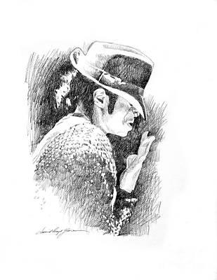Michael Jackson Hat Poster