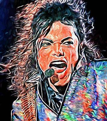 Michael Jackson Live 2 Poster