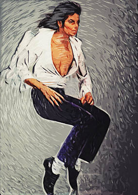 Michael Jackson Poster by Taylan Apukovska