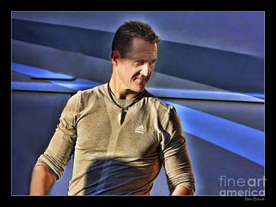 Michael Schumacher The Star Poster by Blake Richards