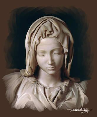 Michelangelo Pieta Poster