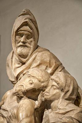 Michelangelo's Final Pieta Poster