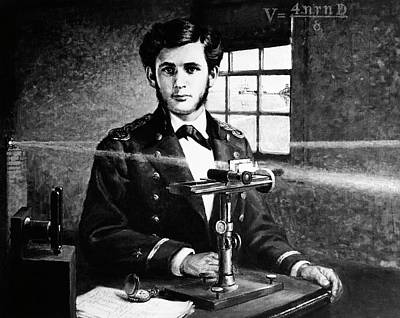 Michelson And His Interferometer Poster by Us Navy, Naval History And Heritage Command