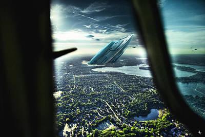 Michigan 2050 Poster by Nicholas  Grunas